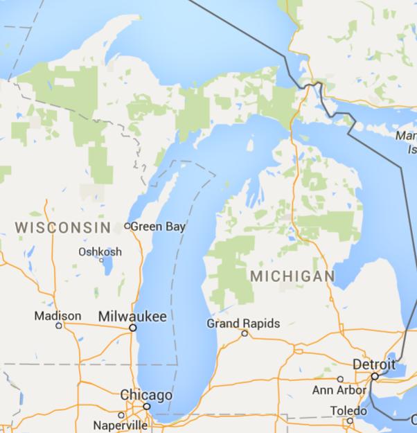 GreenWay-Michigan-Map